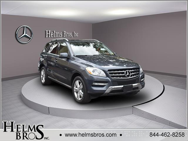 Certified Pre-Owned 2015 Mercedes-Benz M-Class ML 250 AWD 4MATIC®