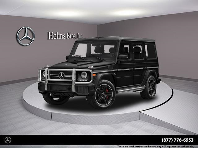 New 2018 Mercedes Benz G Class Amg G 63 Suv Suv In Bayside 8m1138