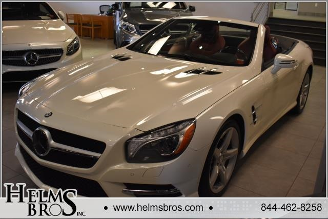 Certified Pre-Owned 2016 Mercedes-Benz SL 400 Rear Wheel Drive ROADSTER
