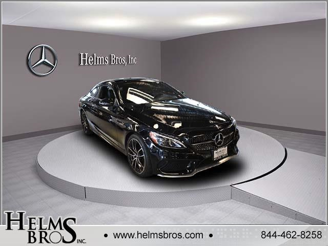 Certified Pre-Owned 2018 Mercedes-Benz C-Class AMG® C 43 Coupe AWD 4MATIC®