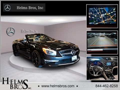 Pre-Owned 2015 Mercedes-Benz SL AMG® SL 63